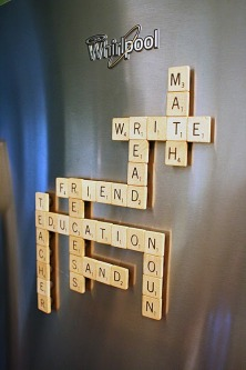 Magnetic Scrabble Game 1