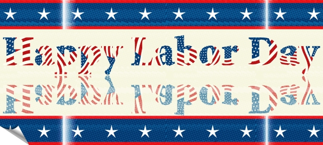 Labor Day sticker