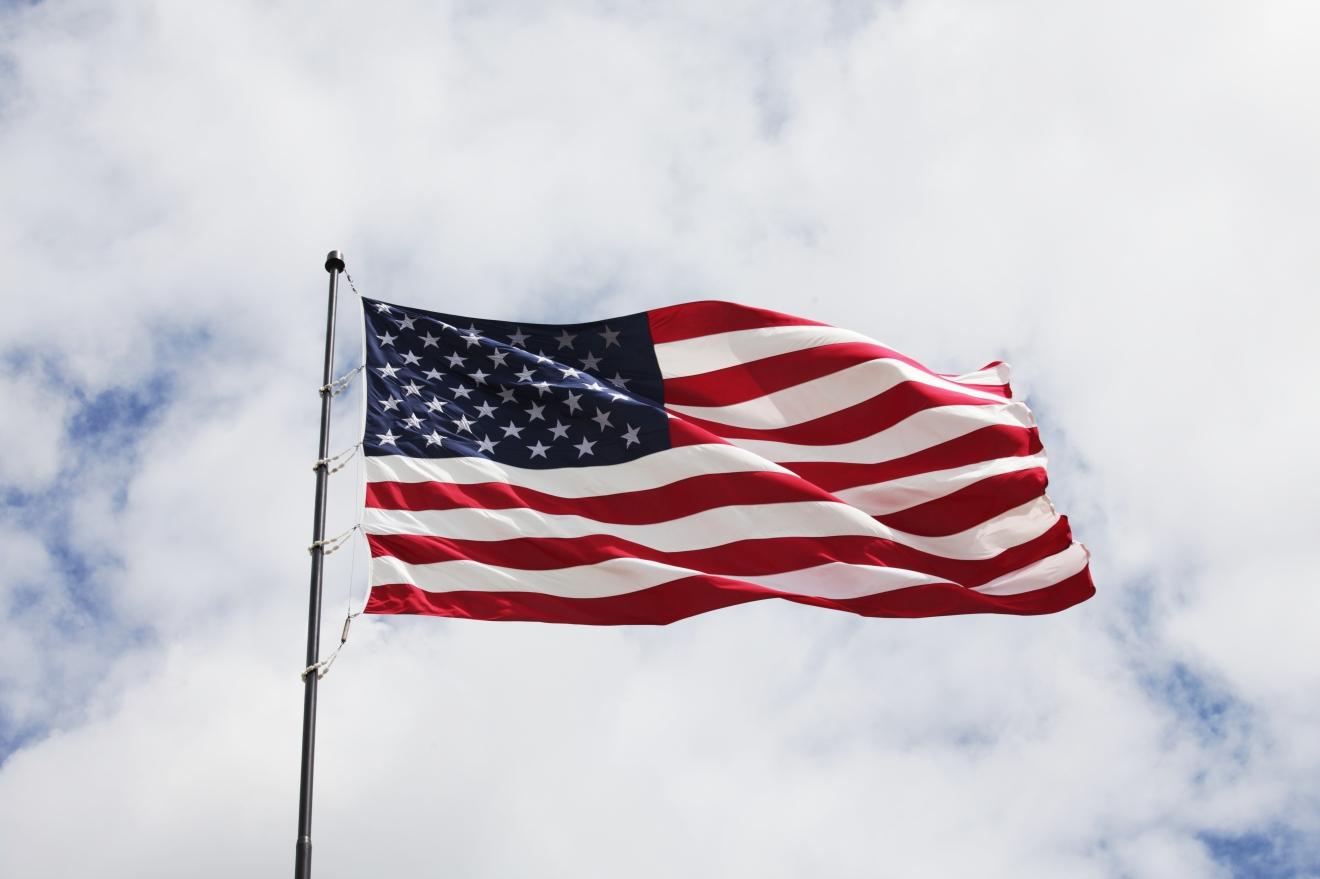 american flag speech