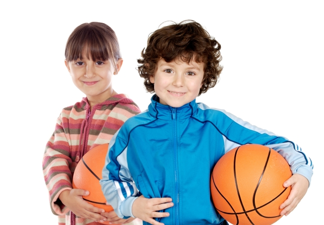 KidsWithBasketballs